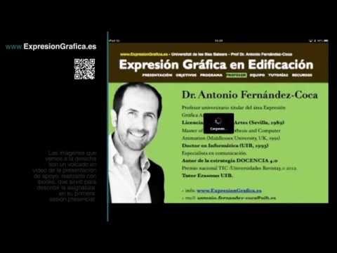Presentación asignatura Expresión Gráfica Universitat Illes Balears