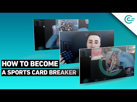 How to Become a Sports Card Breaker