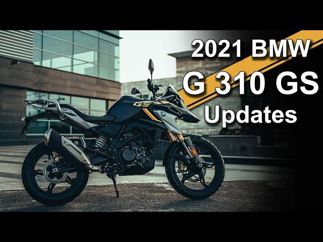 2021 BMW G 310 GS Update Overview | Beginner Adventure