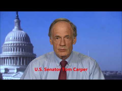 US Senator Tom Carper