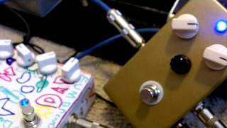 two tremolo pedals