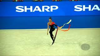 AVERINA Dina (RUS) - 2017 Rhythmic Worlds, Pesaro (ITA) - Qualifications Ribbon