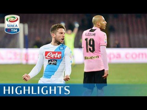 Napoli - Palermo - 1-1 - Highlights - Giornata 22 - Serie A TIM 2016/17