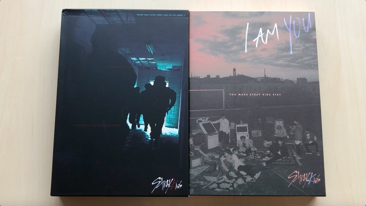 ♡Unboxing Stray Kids 스트레이키즈 I am NOT & I am YOU Taiwan Edition Albums♡
