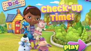 Doc Mcstuffins Play Bathtime And Check Up Time Disney Junior Flash Games Videos