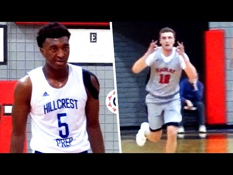 Ron Artest Watches Youngest Son BALL W/ Kyree Walker! Findlay Prep RAINING THREES On Hillcrest!