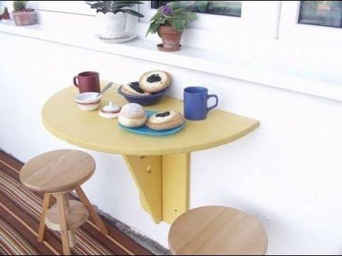 видео: Интересные идеи для маленького балкона