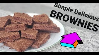 Quick, Easy, and Delicious Brownie Recipe!!  Evelyn &amp Emily Show