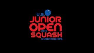 2018 U.S. Junior Open Squash Championships - Tuesday