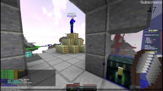 Minecraft Stream Playing playing 40 vs 40 bow duels with admin on Hypixel + More
