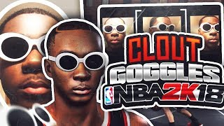 CLOUT GOGGLES FACE SCAN CREATION IN 2K18? 🔥😱 LOOK LIKE EVERY SOUNDCLOUD RAPPER AT THE PARK!😈