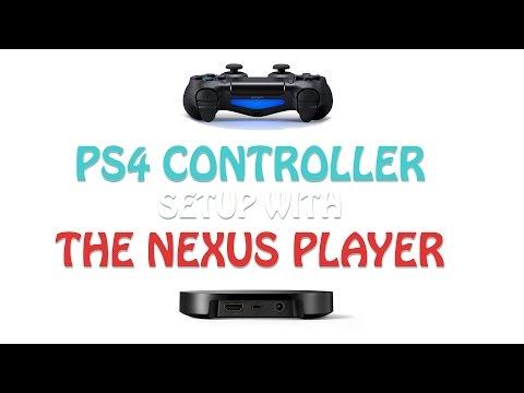 Nexus Player - (PS4)  Playstation 4 Controller Setup