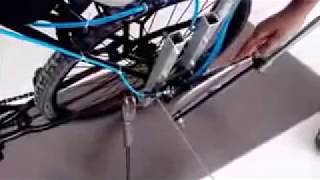 Pneumatic powered bicycle mechanical engineering project by Gaurav Kumar