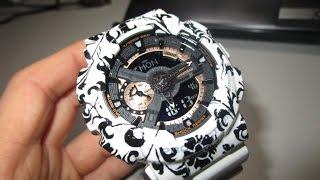 G Shock GA-110 Flower Custom by TheDoktor210884 How to make a custom bezel