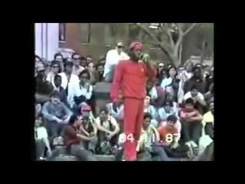 Charlie Barnett - Washington Square Park - CLEAN AUDIO