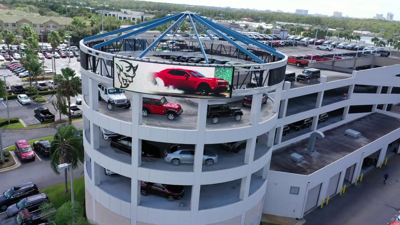 Central Florida Chrysler Dodge Jeep Ram - Aerial Drone ...