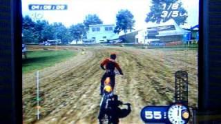 PS2 MX Superfly Featuring Ricky Carmichael 125cc Motocross Race