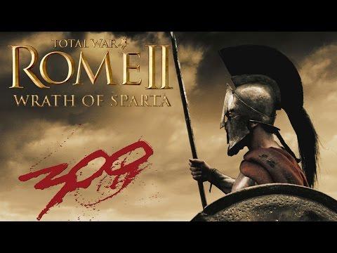 Total War Rome 2: Wrath Of Sparta 300 Reskin Mod!