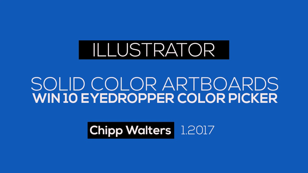 how to change the color of illustrator artboard