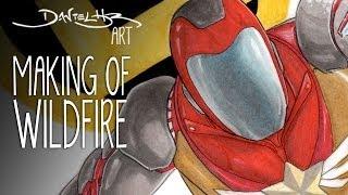 Making Of WILDFIRE   Daniel HDR Art