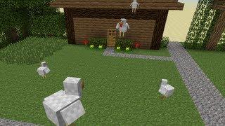 Zelda Chicken Attack in Minecraft