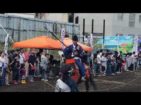 流鏑馬デモンストレーション - 2019.10.6 小田急線下北沢駅東口前特設会場