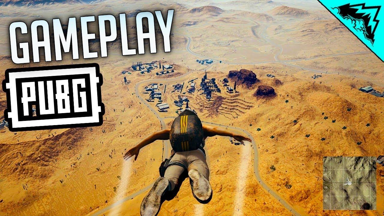 Playerunknown S Battlegrounds Desert Map: PUBG: DESERT MAP GAMEPLAY (PlayerUnknown's Battlegrounds