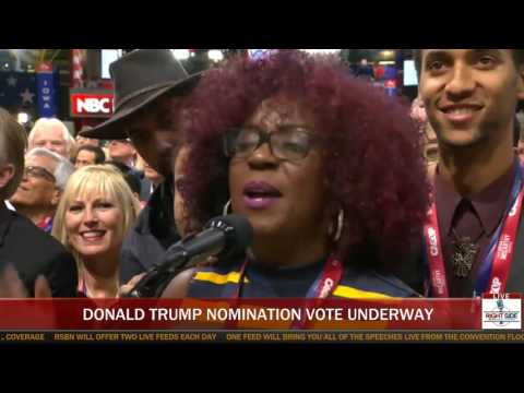 Trump Wins Nomination - Full Roll Call of the Delegates at RNC in Cleveland