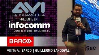Visita a Barco durante  InfoComm Orlando 2019