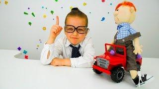 Видео для детей. Играем с машинками