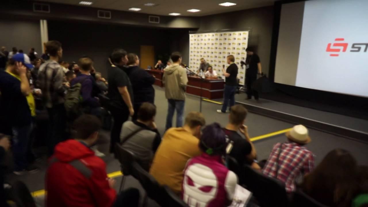 Download [CamRip] Вторая межкгалактическая схода StopGame.ru на Игромире 2016