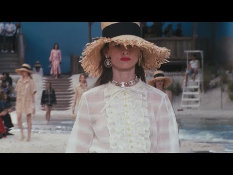 Chanel Spring Summer 2019 Paris show by the sea