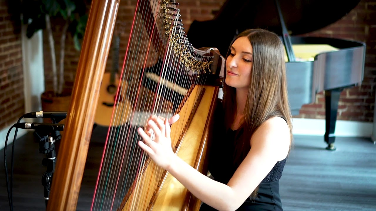 "Harpist - ""Canon in D"" 