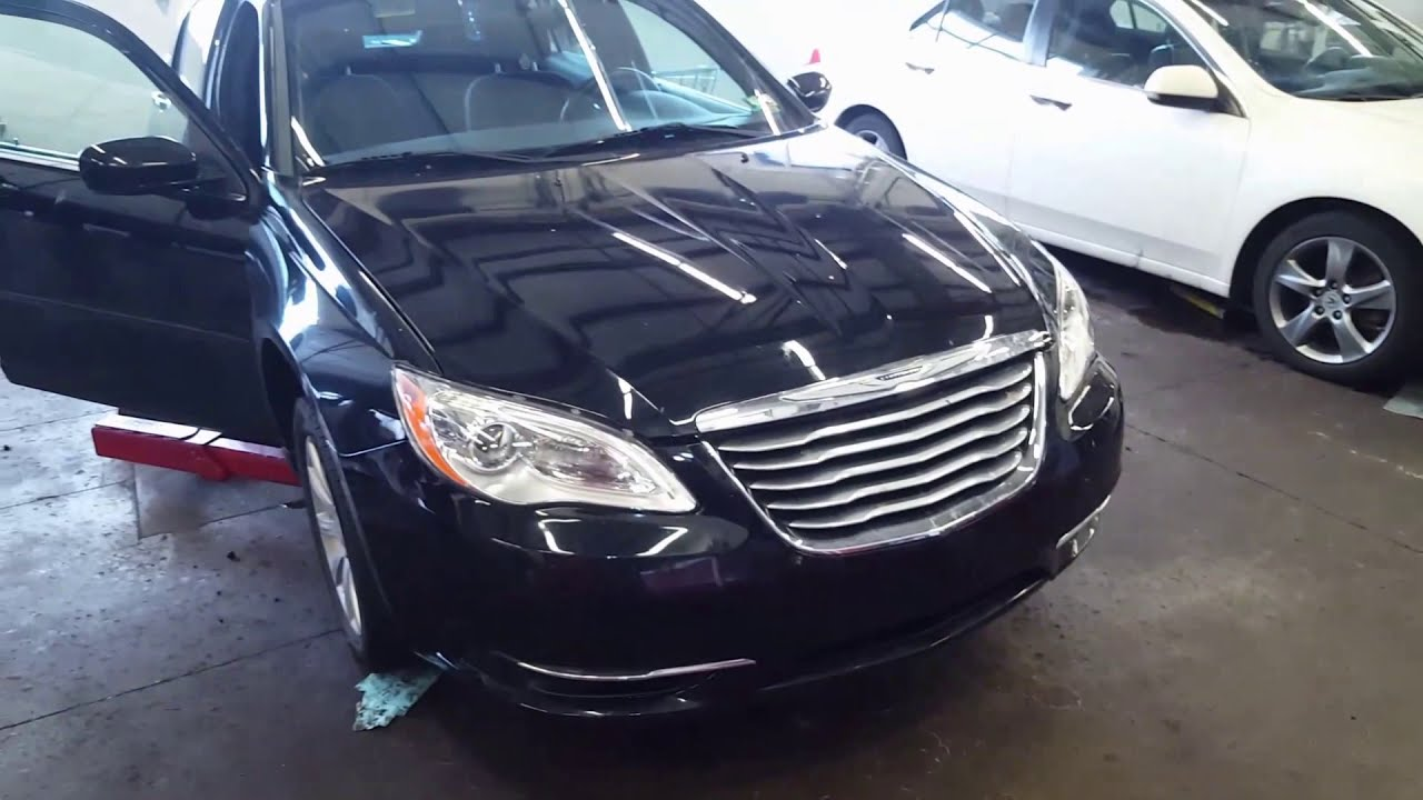 Chrysler 200 Clicking Noise Easy Fix 2011-2014 Tapping Hvac Ac Heater  Recirculation Actuator Motor  Nononsenseknowhow 02:45 HD
