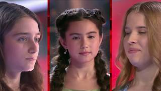 Hallelujah from Russian Audition The Voice Kids (3 language)