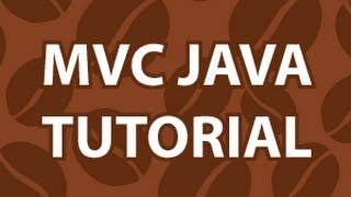 MVC Java Tutorial
