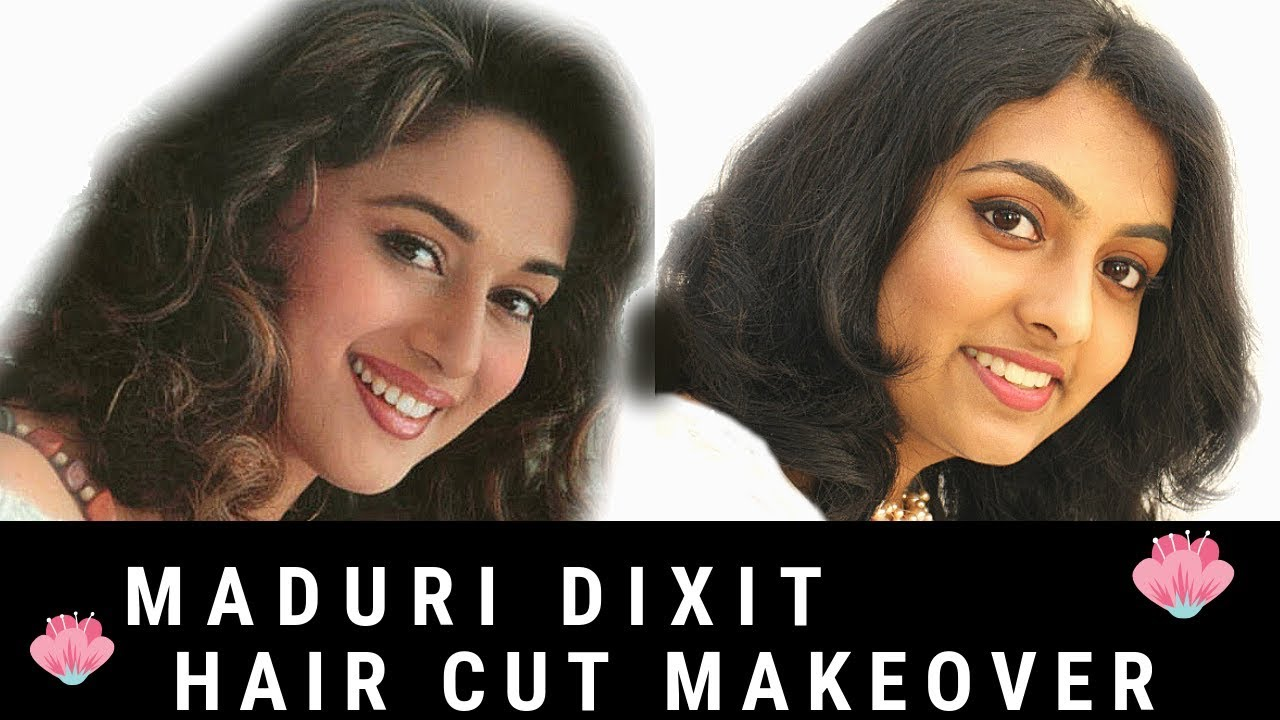 madhuri dixit inspired haircut  madhuri dixit's hairstyle