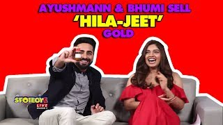 Ayushmann Khurrana & Bhumi Pednekar Selling These Products Will Make You Rise Up & Laugh! | SpotboyE