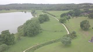 Ariel footage of the Hotel, Resort and Cycle path.