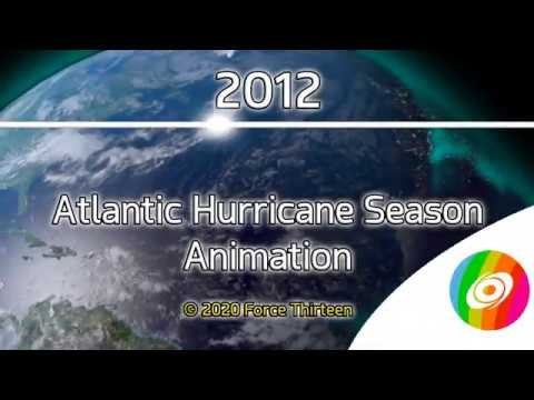 2012 Atlantic Hurricane