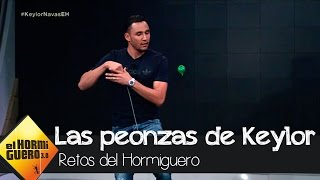Keylor Navas demuestra en 'El Hormiguero 3.0' su destreza con las peonzas - El Hormiguero 3.0