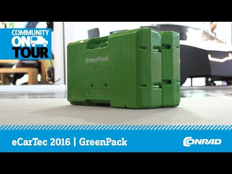 GreenPack - modulares Akkusystem für Werkzeuge und Transportmittel | eCarTec 2016