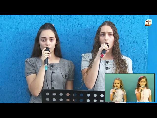 Sangue Precioso   Miriã e Ana Laura   Tabernáculo da Fé Campinas/SP.