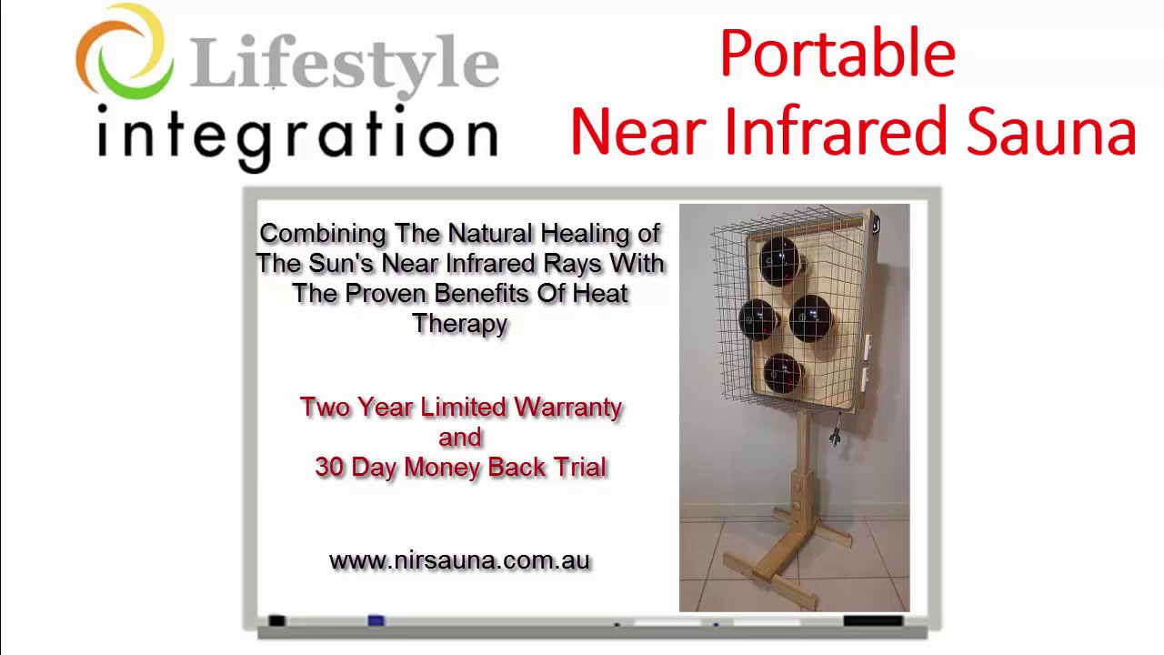 Why to choose a portable near infrared sauna compared to a for Enlighten sauna