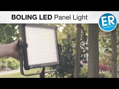Die perfekte Videoleuchte für YouTuber? BOLING LED Panel Light im Test!