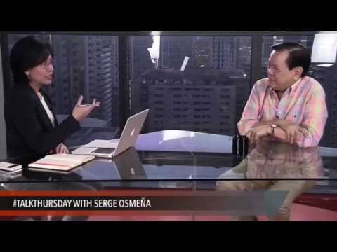 #TalkThursday with Serge Osmeña