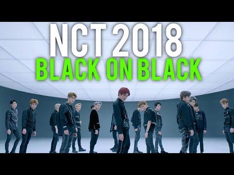 "NCT 2018 only wear ""BLACK ON BLACK"" (MV performance Reaction)"