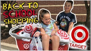 Back To School Shopping At TARGET! 2019📝😋 🏫 |Lala & DayDay|