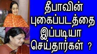 SASIKALA shocked about deepa | தீபாவை பார்த்து வியந்த போயஸ் தோட்டம் | Political News