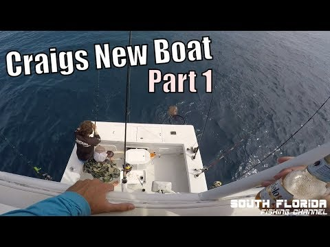 Key Largo Offshore Fishing | Craigs New Boat - Part 1